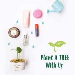 [THE FACE SHOP Singapore] Plant-A-Tree Campaign 🌳Don't miss out the chance to plant a tree with us and save the earth!