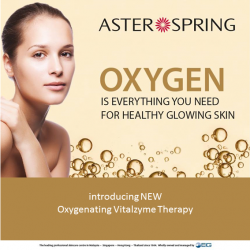 [AsterSpring Origin of Beauty] Has your skin been looking dull, dry and lacklustre lately?