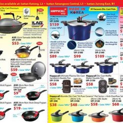 [Isetan] Get new pots and pans from Happycall and ASD at Isetan Private Sale.