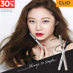 [Watsons Singapore] Shout out to all CLIO fans out there!