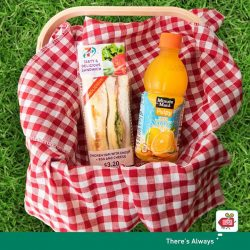 [7-Eleven Singapore] Grab the perfect picnic combo at 7-Eleven!
