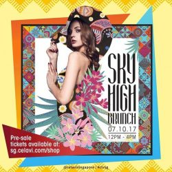 [CÉ LA VI] The highly anticipated Sky High Brunch is BACK and the first one to be hosted at our remodelled restaurant!