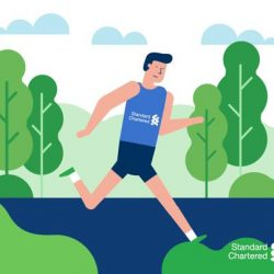 [Standard Chartered Bank] Give your health an added boost after a marathon.