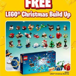 [Bricks World (LEGO Exclusive)] October GWP - LEGO® Christmas Build UpFrom 1 October onwards, spend S$120 nett in a single receipt on any