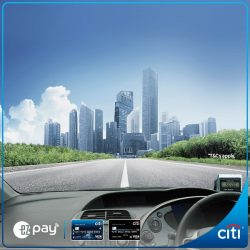 [Citibank ATM] Forget cash card top ups, go EZ with EZ-Pay.