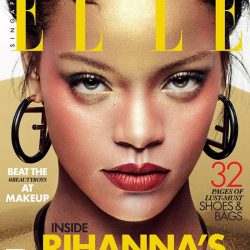 [Flatss and Heelss by Rad Russel] No Monday blues cos we've got some good news: Pop megastar Rihanna is ELLE's October cover star.