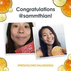 [Fresh] Congratulations to our 3rd weekly FreshGlowChallengeSG winners, @veniceliwen, @fashionvoyager, and @sammithian!