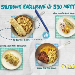 [Fish & Co. Singapore] It's pretty safe to say that student privileges are still the best, yes?