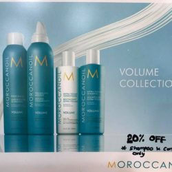 [Ken@HairStage] First time 20% discount on Moroconoil Shampoos and Conditioners.