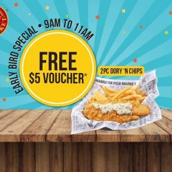 [The Manhattan FISH MARKET Singapore] Have you set your alarm clocks yet?