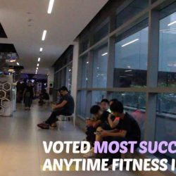 [Anytime Fitness] We are happy to partner F1 RECREATION all these years.