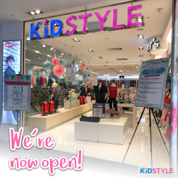 [KidStyleSg] WE ARE OFFICIALLY OPENED!