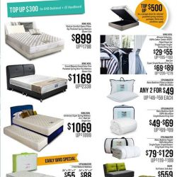 [Isetan] Get a interior upgrade with our Home promotions from King Koil and Stylemaster.