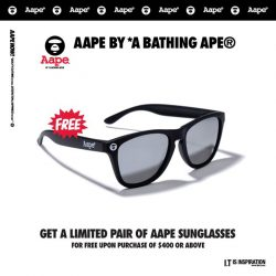 [Chocoolate --- i.t Labels Singapore] With this weather, sunnies are a must.