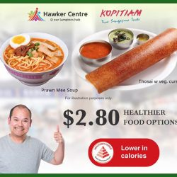 [Kopitiam] Earn 1 K-Point* for any Healthier Choice dish order with our Dine Healthy for Reward Programme!