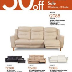 [Sofa Outlet] Ready Stock Clearance Sale Enjoy up to 50%* off store wide.