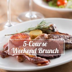 [Wooloomooloo Steak House] A long week is always worth the trouble when it ends with weekend brunch!