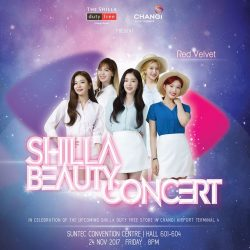 [COSMETICS & PERFUMES BY SHILLA] Shop at iShopChangi to catch SHINee and Red Velvet live!