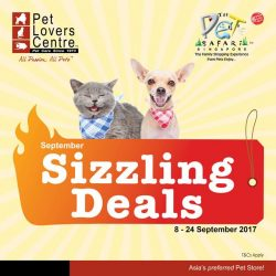 [Pet Lovers Centre Singapore] Redeem your Free treats with Burp Dry Food today!