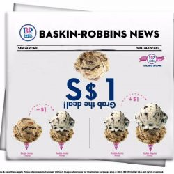 [Baskin Robbins] Breaking news!