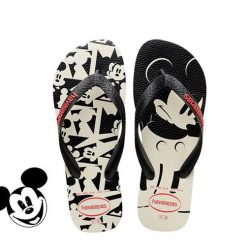 [DOT Singapore] Whistle while you walk in these magical Havaianas flip-flops featuring the most classic Disney character: Mickey Mouse.