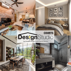 [Courts] Make your dream home a reality at bite-size monthly payments with COURTS Design Studio!