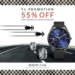 [BERING] It's F1 mania over at  Suntec City!