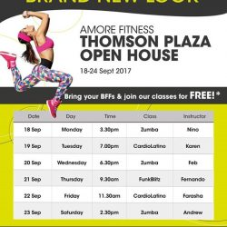 [Amore Fitness] From 18-24 Sep, get set for 7 days of workout fun!
