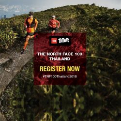 "[The North Face] Join Thailand's ""Ultimate Trail Running Challenge"" TNF100Thailand2018 on February 3, 2018 in Pak Chong."