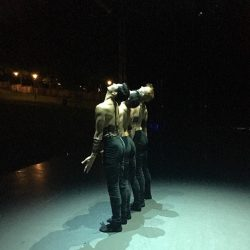 [Singapore Dance Theatre] Sneak peeks of tonight's opening piece — Sticks and Stones by Kinsun Chan!