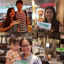 [Hoshino Coffee Singapore] Congratulations🎉🎉~~The winners of Monthly Feedback Form Giveaway!