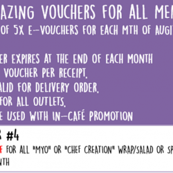 [Simply Wrapps] Oct's 5x Amazing Voucher 4 !