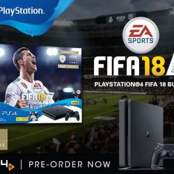 [PLAYe] New Pre-Order:FIFA 18 Playstation 4 BundleWhat's in the bundle:• PlayStation 4 Slim • DUALSHOCK®4 wireless controller •