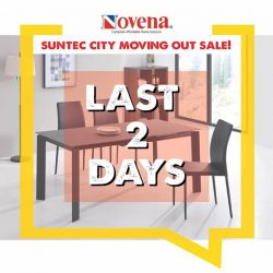 [Novena] LAST 2 Days of our Moving Out Sale at Suntec City!