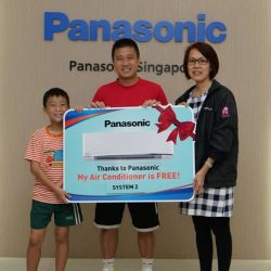 [Panasonic] Congratulations Mr Tan Kah on being one of our 18 lucky winners to walk away with a full cash rebate