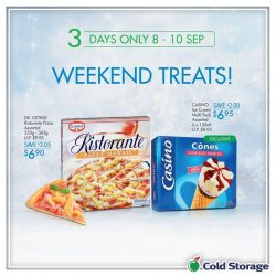 [Cold Storage] Celebrate the gloriousness of the weekend with some treats for your sweet!