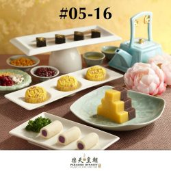 [Causeway Point] Exquisite Imperial Dim Sum - Feast like royalty with Paradise Dynasty's exquisite Northern China desserts, and indulge in handmade delectable