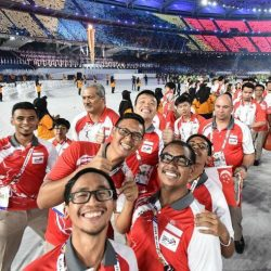 [Moshi Moshi Jewellery] All of us at the Handicaps Welfare Association (HWA) congratulate the Singapore para-athletes team, for their best ever medal
