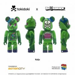 [Action City] In additional to the STGCC 10th Anniversary Exclusive tokidoki BE@RBRICK Adios 100% and 400%, we will also be launching