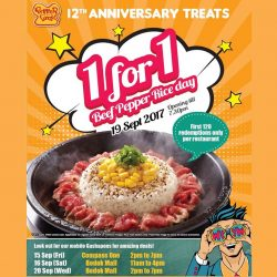 [PEPPER LUNCH] Pepper Lunch's Anniversary Treat is back!
