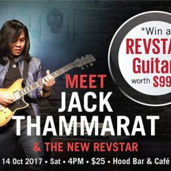 [YAMAHA MUSIC SQUARE] Each ticket to Jack Thammarat performance offers you a chance to win the new Yamaha REVSTAR RS502T worth $999!