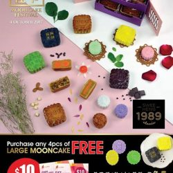 [Swee Heng Classic 1989] Celebrate Mid-autumn festival with our premium mooncakes.