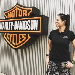 [Harley-Davidson] Long overdue, let us welcome Alin, the newest addition to our motorcycles division team.