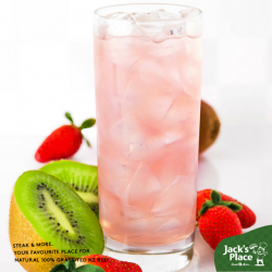 [Jack's Place] Nothing beats a light and refreshing drink in our hot and humid weather, especially if it's Snapple's strawberry-