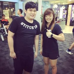 [Anytime Fitness] Adam is currently studying but makes time to go to the gym  for exercise!