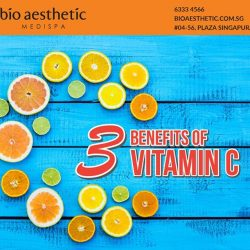 [Bio Aesthetic] There are numerous benefits of Vitamin C namely for a better looking skin and boosting of immunity for the body.