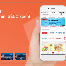 [Citibank ATM] Shop for trending brands at Shopee Mall and get S$10 off with min.