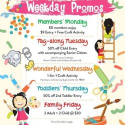 [eXplorerkid] We've something special in store for you every weekday!