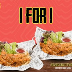 [The Manhattan FISH MARKET Singapore] Enjoy 1 for 1 with $1 delivery when you order with Deliveroo!