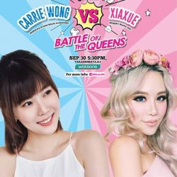 [Watsons Singapore] Catch Carrie Wong and Xiaxue live at Watsons Takashimaya S.
